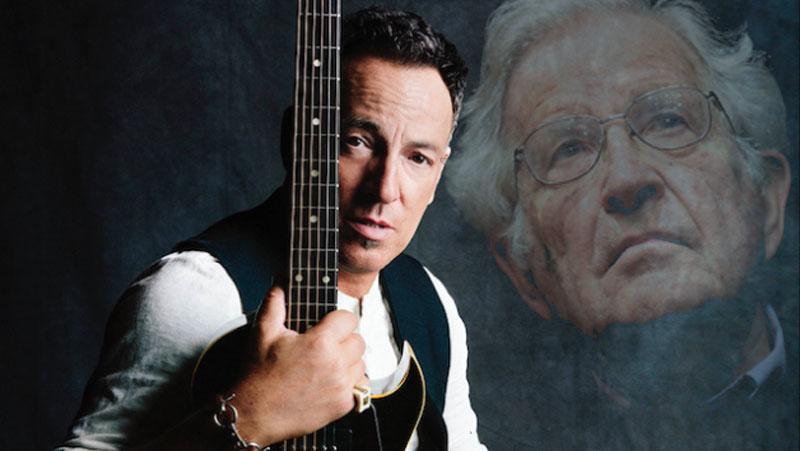 Sogno americano: il concerto live eseguito da Chomsky e Springsteen