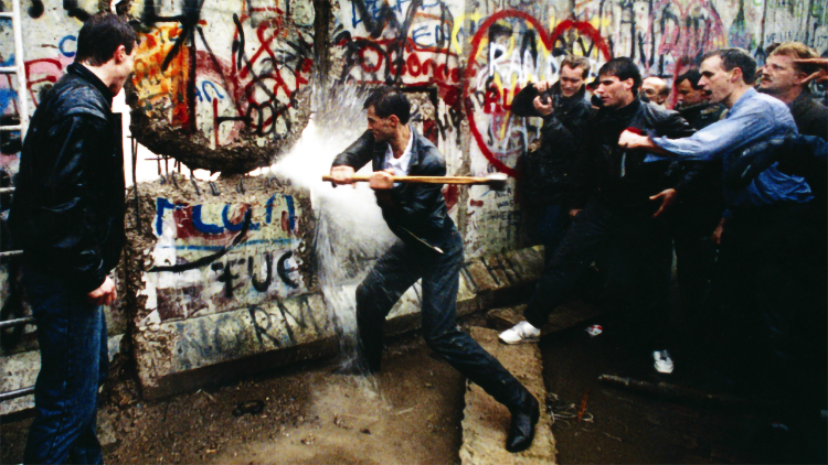 Cade il muro di Berlino il 9 novembre di 30 anni fa