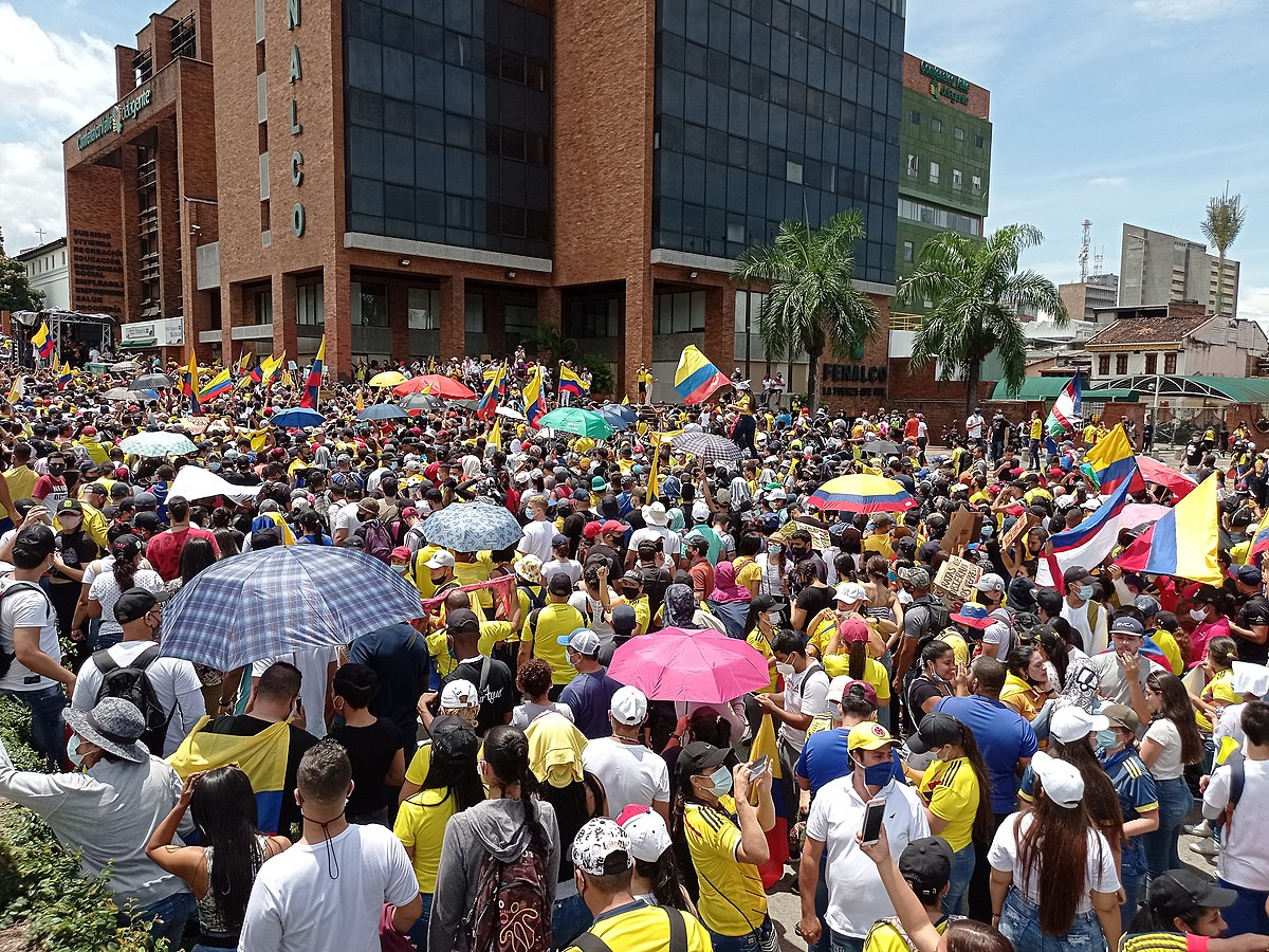 Tanti auguri Colombia!